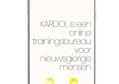 kardol – online trainingen